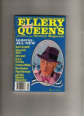 Ellery Queen's - Mystery Magazine -Sept 1978 # 418