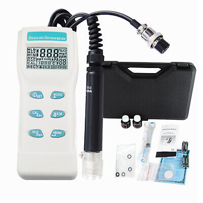 Professional Digital Disolved  Oxygen DO Meter Gauge Thermometer °F °C Analyzer