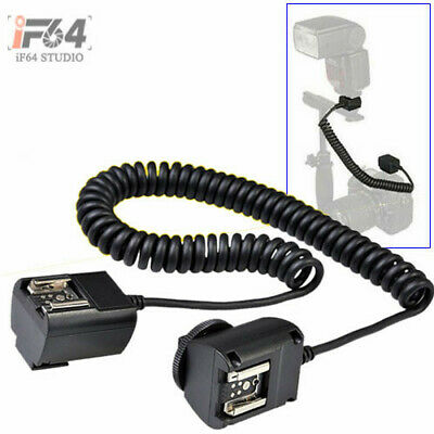 2.5M 2.5 meter i-TTL Off Camera FLASH sync Cord for Nikon SC-28 SC-17