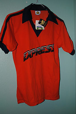Detroit Express  Vintage 1970's Nasl Replica Jersey New With Tags
