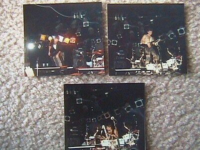 Emerson Lake & Palmer 3 To The Power Of Lot Of (3) Color Photo's 1988 Berry