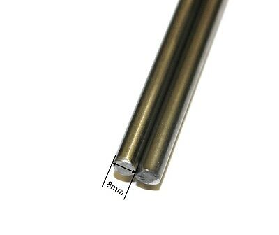 3D Printer 8mm Chrome Steel Smooth Rod - Upto 1m Linear Rail Bar shaft - RepRap