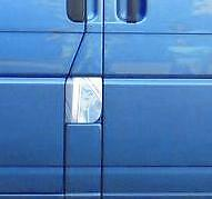 Vw Volkswagen T4 Transporter Caravelle Chrome Fuel Flap / Petrol Flap Cover Trim