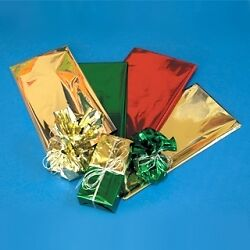 10 x Pack Creative Papers Metallized Tissue Paper Red,Green,Gold,Silver 12 Sheet