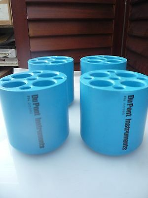 PLASTIC TUBE INSERT ADAPTERS FOR BECKMAN ROTORS - LOT of 10  (1512.1./17)