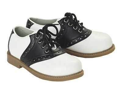 50's 50s Fifties Black and White Saddle Shoes Adult Costume Accessory