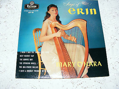 Mary  O'hara  Songs  Of  Erin  EP  I  Wish  I  Had A Shepherd's Lamb / Next   7""