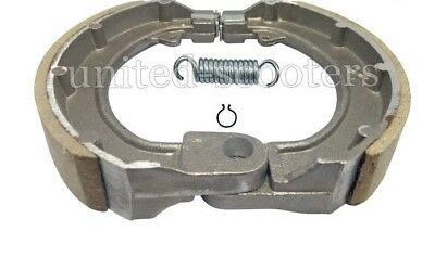 Vespa Vlb 10 Inches Front Brake Shoes Pair And Spares 2 Post New V2209