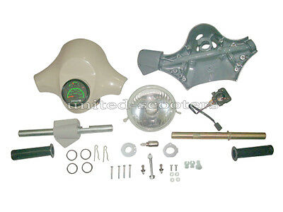 Vespa PX125 PX150 Handle Lower With Spare Electric Start With out Bush P1319