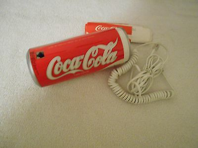 1985 Coca-Cola  Phone ( Metal Coke Can) - Works