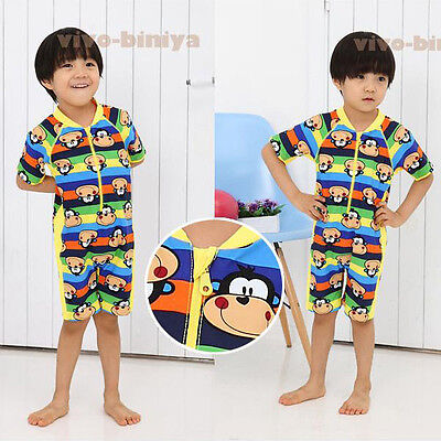 KIDS BABY BOYS TODDLERS SUIT SWIMWEAR SWIMMING COSTUME Size 2-6 SMK01