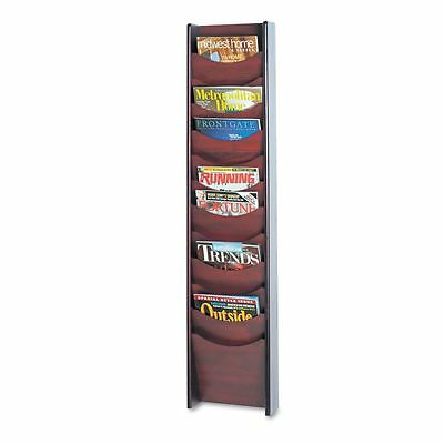 Safco 12 Pocket Wall Mount Literature Display - SAF4331MH