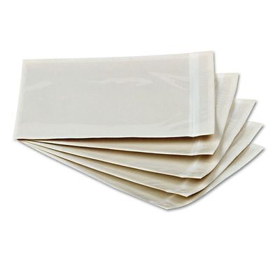 Quality Park Clear Front Self-Adhesive Packing List Envelope, 6 x 4 - QUA46996