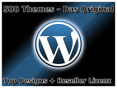 500 Exklusive Wordpress Themen Word Press Grafik Layouts Grafiken Thema Mrr Neu