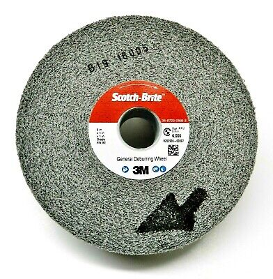 3M Deburring Wheel General Purpose Wheel 6x1x1 9S-FIN # 64900 Cleaning Finishing
