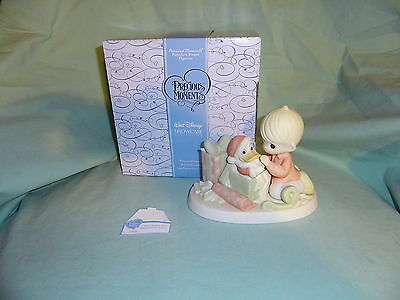 OOP Precious Moments Disney Showcase Nothin To It Donald Duck  NIB 710038