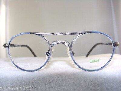 TANN'S 940 SMALL CHILDS ANTIQUE BLUE EYEGLASS FRAME SIZE 42-18