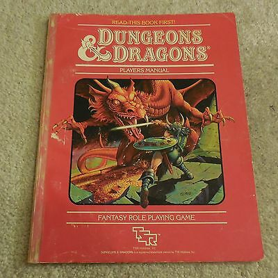 dungeons & dragons players manual book f