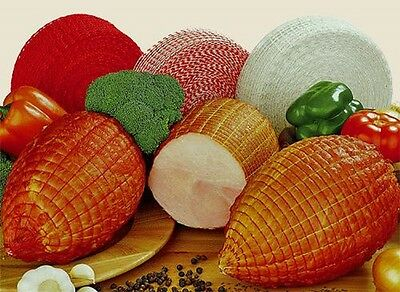 """2 Roastable  White Butchers Meat Netting All Meats """"easy to strip"""""""