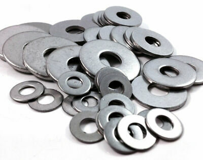 A2 Stainless Steel Form G Thick & Wide Flat Washers - Din 9021 - Rust Proof