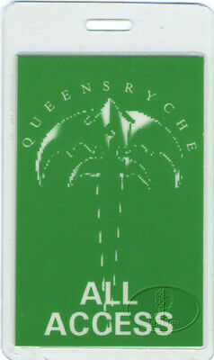 Queensryche 1991 Laminated Backstage Pass