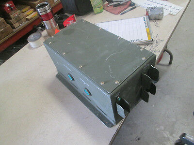 D.C. Power Distribution Box for SINCGARS & Battery Charger, NOS?