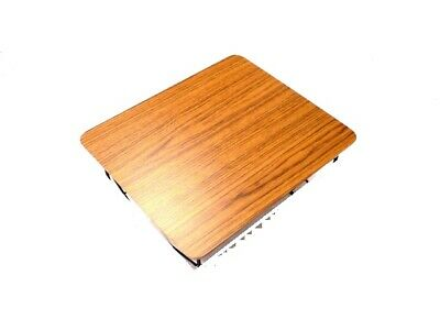 Zebra Wooden Top For replacement of Eames LTR Side Table ~ Modern Eam es~