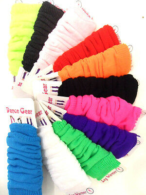 New Womens Girls Leg Warmers Footless Slouch Socks Dance Ballet Fancy Dress Hen