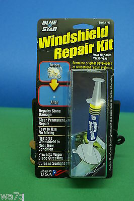 Windshield Glass Repair Kit For Stone Damage Chip Repair In Auto Glass
