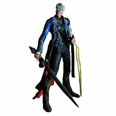 *NEW* Devil May Cry 3 Vergil Play Arts Kai Action Figure