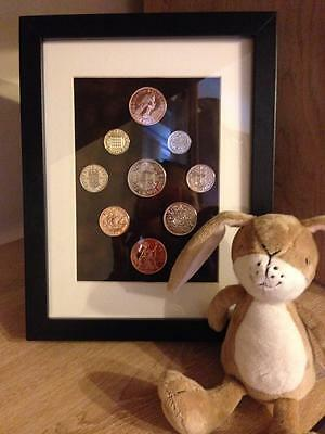 Framed Coin Year Sets Choice Of Year 1954 - 1967 Perfect Birthday Present