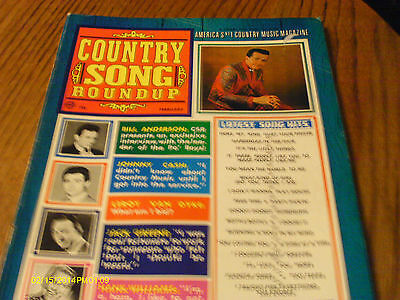 Bill Anderson Covers Country Song Roundup Magazine February 1968
