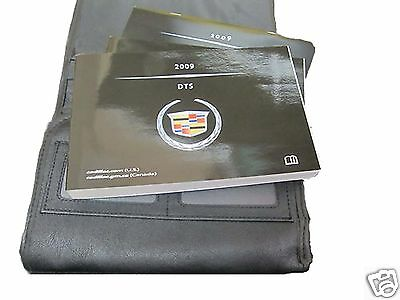 2009 Cadillac Dts New Owners Owner Manual Book Genuine Gm W Leather Case English