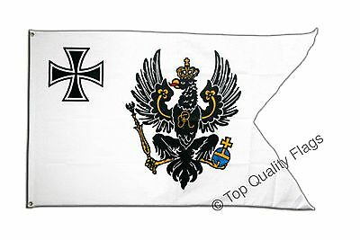Prussia Topflagge FLAG prussian Banner 90x150cm - 5ftx3ft