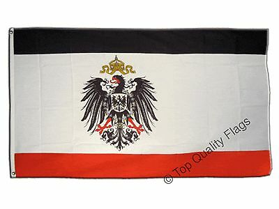 Germany German Empire 1871-1918 FLAG german Banner 90x150cm - 5ftx3ft
