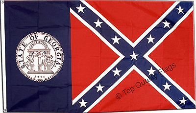 USA Georgia old FLAG american Banner 90x150cm - 5ftx3ft