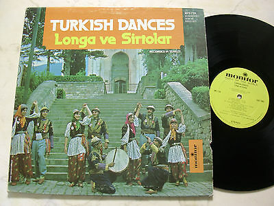 TÜRKEI LP TURKISH DANCES Longa Ve Sirtolar HÜSNÜ ÖZKART