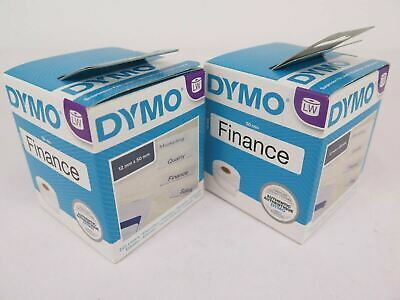2 Pack Dymo Labelwriter Suspension File Labels 50 x 12mm SD99017