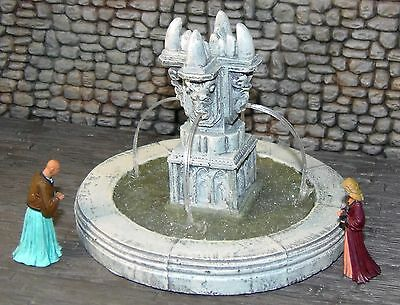 Painted Gargoyle Fountain - Works with Dwarven Forge and DnD D&D