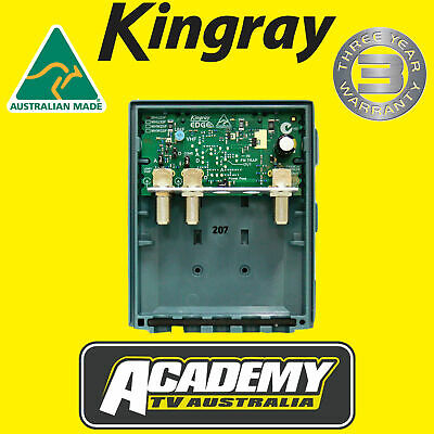 Digital Tv Signal Booster Kingray Mhu35F Uhf Masthead Amplifier Only