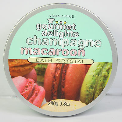 Gourmet Delights Bath Crystals Salts Champagne Coconut Cherrytop Cupcakes NEW