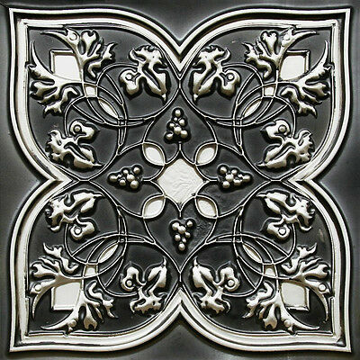 24x24 Antique Silver Decorative PVC Ceiling Tile  #212