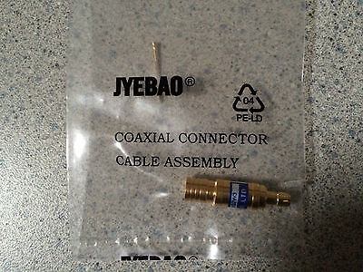 JYEBAO Fixed Attenuator - 4GHz SMB Plug To SMB Jack, Gold Plated