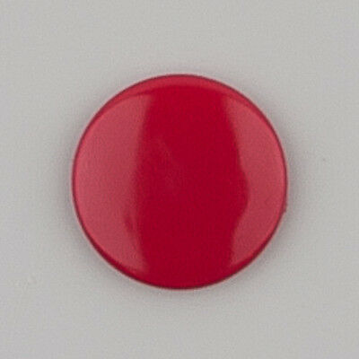 G104 Cranberry KAM Snaps for Cloth Diapers/Bibs/Crafts/Plastic Snap Buttons Red