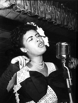 Billie Holiday 8X10 Glossy Photo Picture