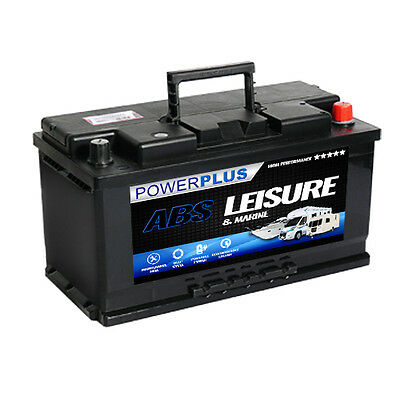 Advanced Leisure Battery LP110 12v Low Profile 110 ah amp caravan/motor mover