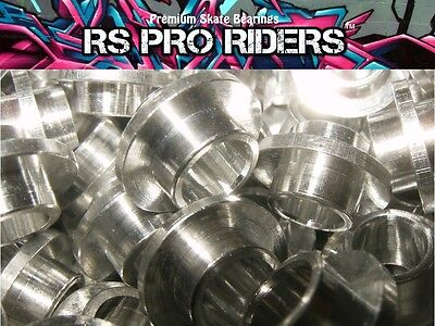 10mm BEST QUALITY ALLOY FLOATING BEARING SPACERS FOR INLINE SKATE SCOOTER WHEELS