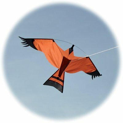 Hawk kite / crop protection bird scarer with free line rig