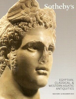 Sotheby's Egyptian Classical & Western Asiatic Antiquities Auction Catalog 2013