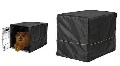 Crate Cover for Dogs - 6 sizes - Fits all sizes of wire crates - security